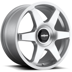 Rotiform Wheels R114 Six Silver