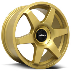 Rotiform Wheels SIX R118 Gold