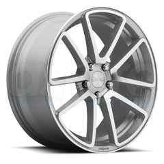 Rotiform Wheels R120 Spf Silver Machined