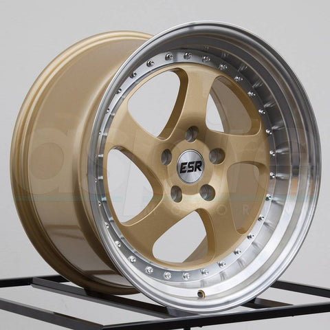 ESR Wheels SR02 Gold