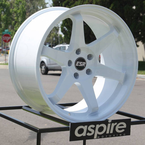 ESR Wheels SR07 White