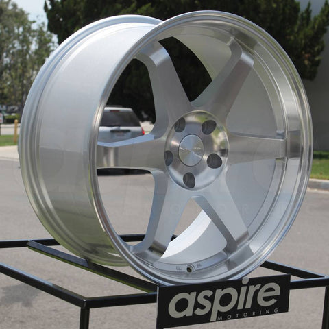 ESR Wheels SR07 Machined Silver