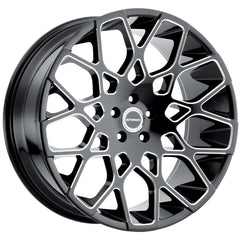 Strada Wheels S59 Buca Black Milled