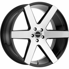 Strada Wheels S60 Coda Black Machine
