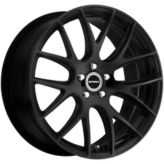 Strada Wheels S44 Fuso Black