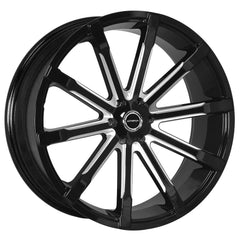 Strada Wheels S48 Osso Black Milled