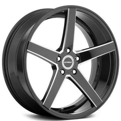 Strada Wheels S35 Perfetto Black Milled