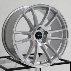 Vors Wheels TR10 Silver Machined
