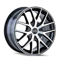 Touren Wheels 3260 TR60 Black Machined Black