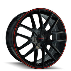 Touren Wheels 3260 TR60 Black Red