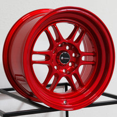 Vors Wheels TR6 Candy Red