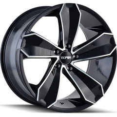 Touren Wheels TR71 Gloss Black Machined