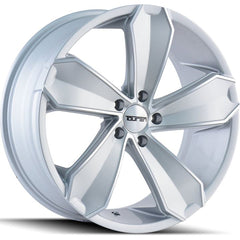 Touren Wheels TR71 Gloss Silver Machined