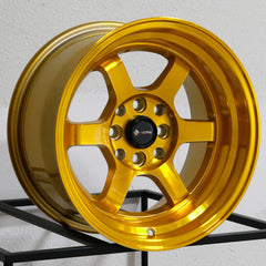 Vors Wheels TR7 Candy Gold