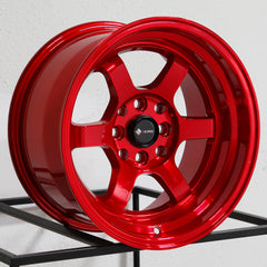 Vors Wheels TR7 Candy Red