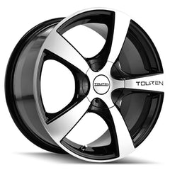 Touren Wheels 3190 TR9 Black Machined Lip