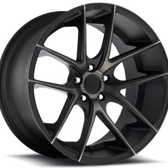 Niche Wheels M130 Targa Black Machined