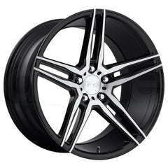 Niche Wheels M169 Turin Black Machined