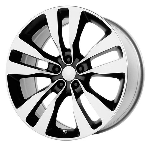Replica Wheels V1167 2012 Charger SRT-8 Black Machined