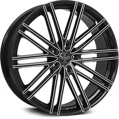 Versante Wheels VE227 Black Milled