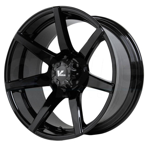 V-Rock Wheels VR8 Extractor Gloss Black