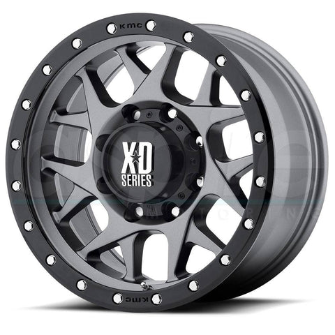 XD Wheels XD127 Bully Gunmetal Black