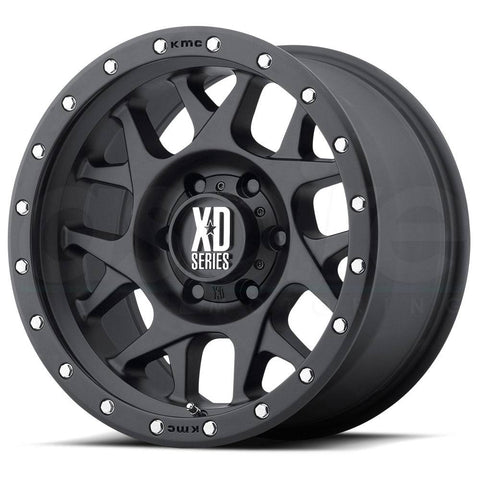 XD Wheels XD127 Bully Black Ring