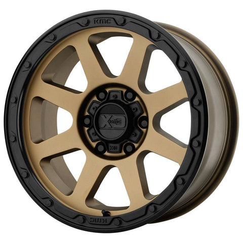 XD Wheels XD134 Addict 2 Bronze Black Lip