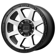 XD Wheels XD134 Addict 2 Matte Black Machine