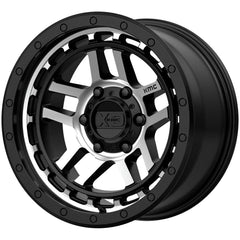 XD Wheels XD140 Recon Black Machine
