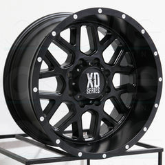 XD Wheels XD820 Grenade Satin Black