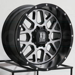 XD Wheels XD820 Grenade Satin Black Machine