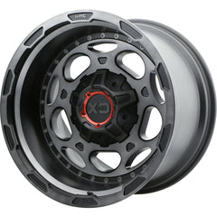 XD Wheels XD837 Demodog Black Gray
