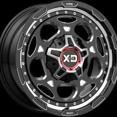 XD Wheels XD837 Demodog Black Milled