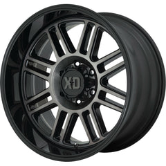 XD Wheels XD850 Cage Black Gray