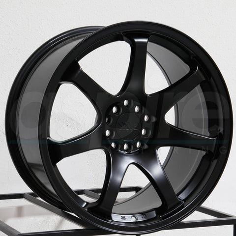 XXR Wheels 551 Flat Black
