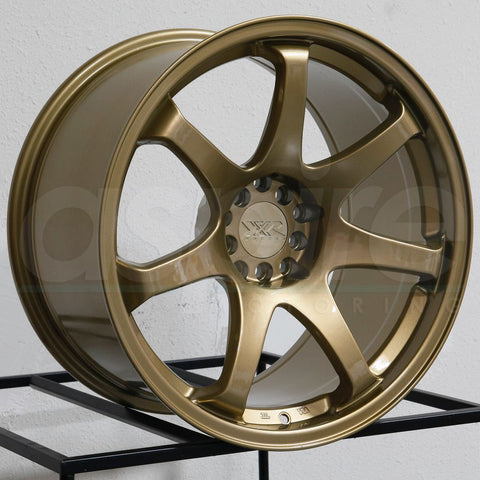 XXR Wheels 551 Gold