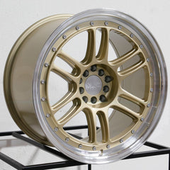 XXR Wheels 552 Gold ML