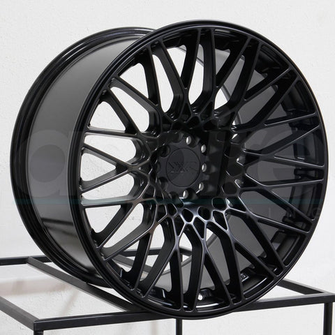 XXR Wheels 553 Flat Black