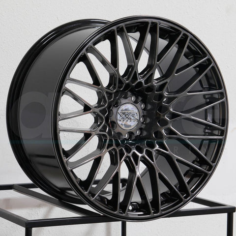 XXR Wheels 553 Chromium Black