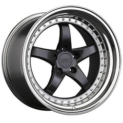 XXR Wheels 565 Graphite Platinum Lip