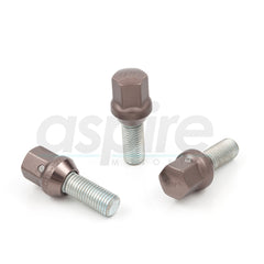 TPI Wheel Bolts - Black Duralumin Head