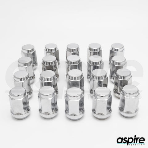 Chrome Hexagonal Lug Nuts