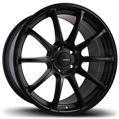 AVID1 Wheels AV27 Black