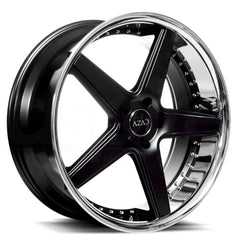 Azad Wheels AZ008 Black Chrome Lip