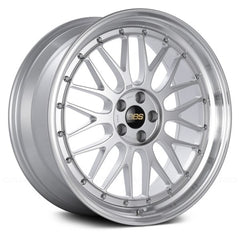 BBS LM Diamond Silver with Dia-Cut Rim and Clear Coat