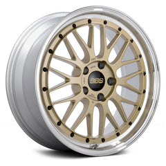 BBS LM Gold with Dia-Cut Rim and Clear Coat