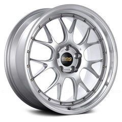BBS LMR Diamond Silver with Dia-Cut Rim and Clear Coat