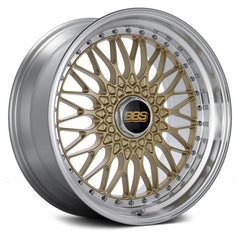 BBS SUPER RS Gold with Dia-Cut Rim and Clear Coat
