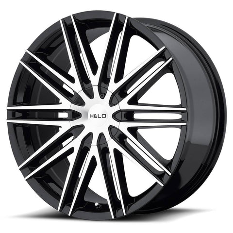 HELO Wheels HE880 Black Machine